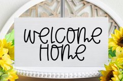 Coming Home - A Quirky Handlettered Font Product Image 2