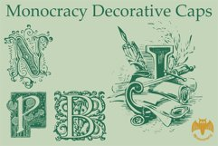 Monocracy Decorative Caps Product Image 5