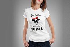 Heifer SVG Bundle, not today heifer svg, heifer please svg Product Image 3