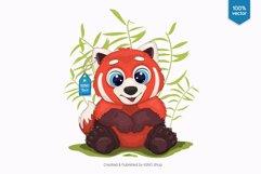 Big cartoon red panda. Product Image 2