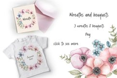 Watercolor Cute Bunny Collection Product Image 5