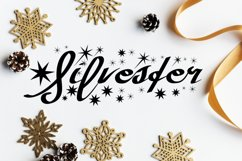 Silvester Fun Holiday Script Product Image 1