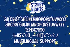Starry Nights - Fun-Starry Font! Product Image 5
