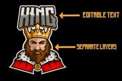 King mascot logo design Product Image 2