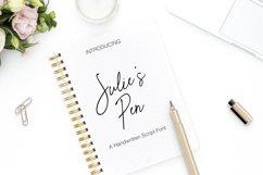 Julie's Pen a Hand Written Script Elegant Font Product Image 2