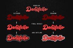 Donatello II new retro script Product Image 3