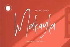 Makayla - Handwritten Font Product Image 1