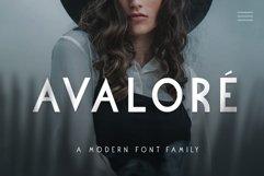 Avalore - Modern Font Family Product Image 1