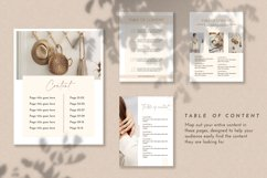 100 Pages Canva Workbook Template   Ebook Template for Canva Product Image 4
