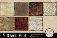 Digital Scrapbook Kit - Heritage Scrapbooking Clipart Product Image 3