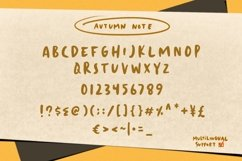Autumn Notes Product Image 3
