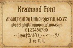 Kramood || Black Letter Product Image 2