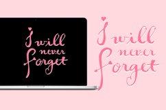 Short Lov - A Script Font Product Image 3