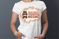 Gamer Mom Sublimation Design for T-shirts PNG Gaming T-shirt Product Image 3