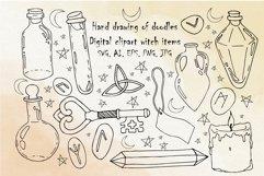 Boho svg,bundle Mystical svg,Witchcraft svg,Crystal svg,Moon Product Image 1