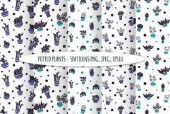 Potted Plants - Vector Collection Product Image 5