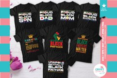 Black Fathers Matter Bundle, SVG, EPS, PNG and More Product Image 1