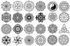 100 Vector Mandala Ornaments Product Image 3