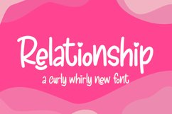 Relationship Font Product Image 1