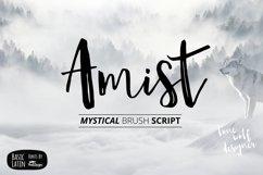 Amist Mystical Script Fonts Product Image 1
