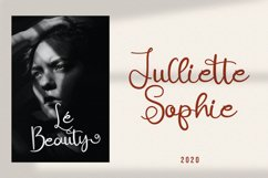 Ajuslly - Modern Calligraphy Font Product Image 6