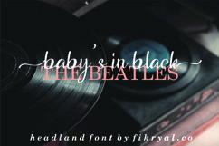 Headland // Script typeface Product Image 4