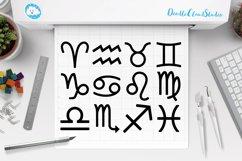 Zodiac Sign SVG, Horoscope Sign SVG, Astrology , Symbol SVG. Product Image 1