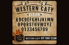 Western Caty Font Family Clean OTF Font Product Image 1
