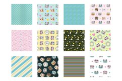 Spring Cats Patterns and illustrations, vector Product Image 2