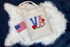 State abbreviation. USA sublimation. Virginia Product Image 3