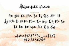 Web Font - Alesantria Mane Product Image 5