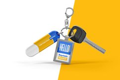 Branded Keychain With Flash Drive Mockup Product Image 1