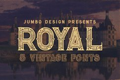 Royal - Vintage Style Font Product Image 1