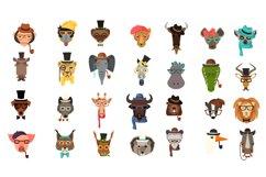 Vector Fashion Animal Icons Big Bundle 52  Product Image 3