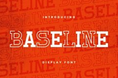 Web Font Baseline Font Product Image 1
