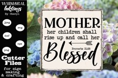 Blessed Mother SVG Product Image 1