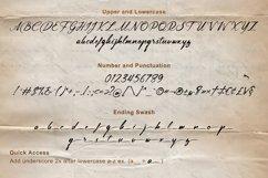 Lingerhend - Classic Script Font Product Image 6