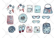 Summer Clipart, Nautical Clip Art Product Image 3