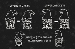 Merry Gnomes - A fun holiday gnome font Product Image 2