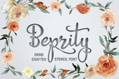 Beprity Stencil Font Product Image 1