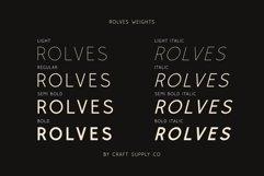 Rolves - Sans Serif Font Family Product Image 3