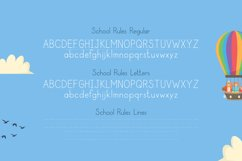 School Rules Font Product Image 5