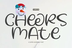 Cheers Mate - A Cute and Playful Font. Product Image 1