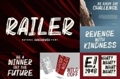 BRUSH CRAFTED Font Bundles Product Image 4