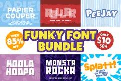 Funky Font Mini Bundle Product Image 1