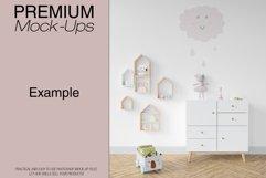 Kids Room - Wall & 90 Custom Frames Product Image 3