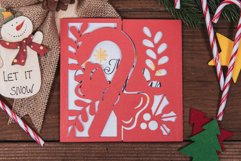 Christmas Candy Cane Invitation cutting file Product Image 4