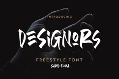 Designors - Freestyle Font Product Image 1