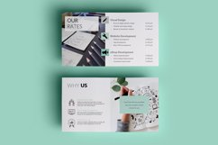 PPT Template | Company Presentation - Green and Marble Product Image 9