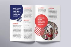 Fitness Trainer Coach Brochure Bifold Product Image 3